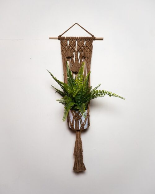 Brown Plant Hanger