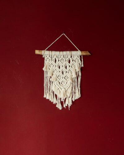 decorazione parete macrame wall hanging